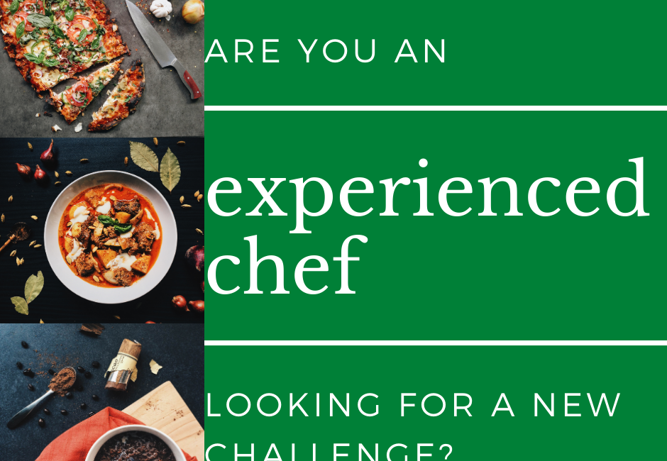 WANTED: Experienced Chef